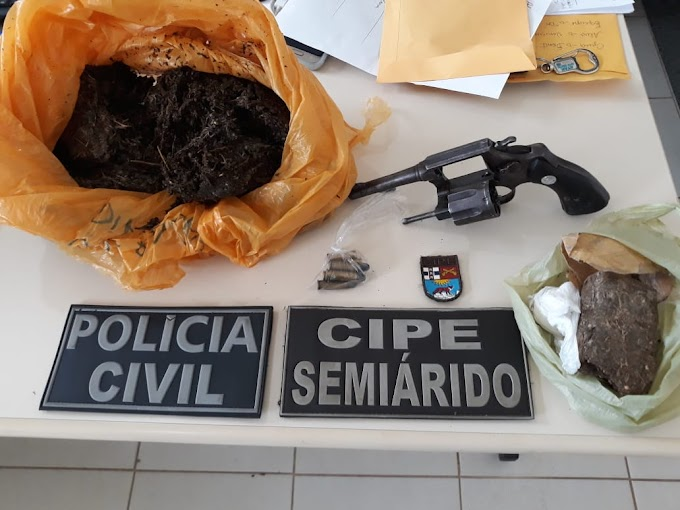Operação conjunta da polícia localiza traficante em Morro do Chapéu