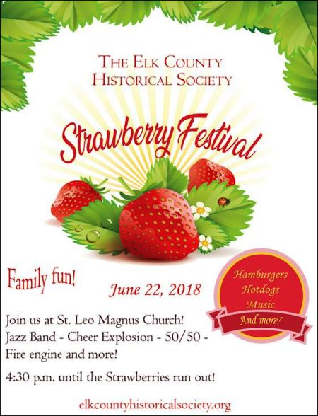 6-22 Strawberry Festival Elk County