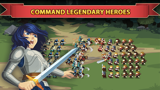 Download Knights and Glory - Tactical Battle Simulator v 1.2.3 Hack MOD APK