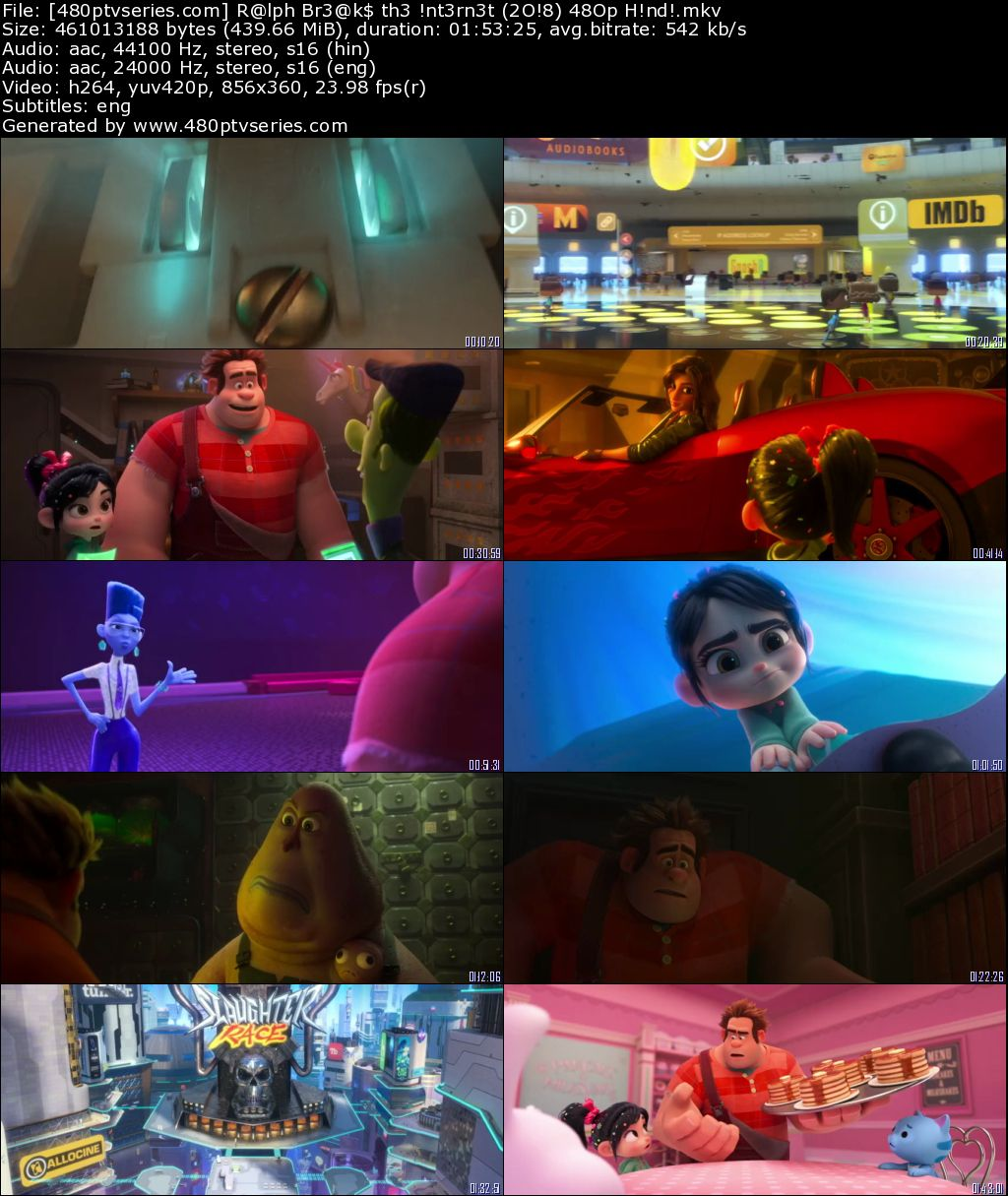 Ralph Breaks the Internet (2018) 450MB Full Hindi Dual Audio Movie Download 480p Web-DL Free Watch Online Full Movie Download Worldfree4u 9xmovies