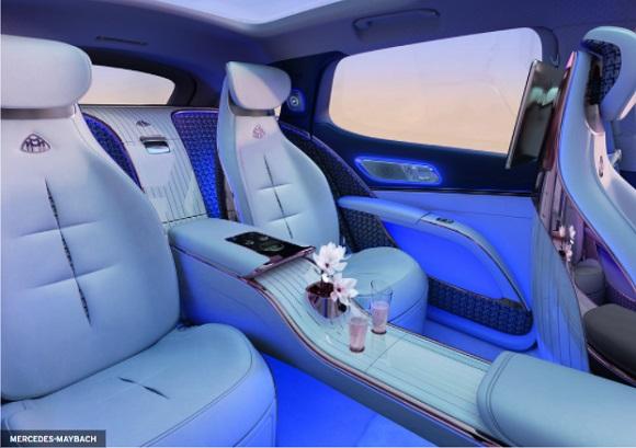 Tempat duduk Mercedes Maybach EQS