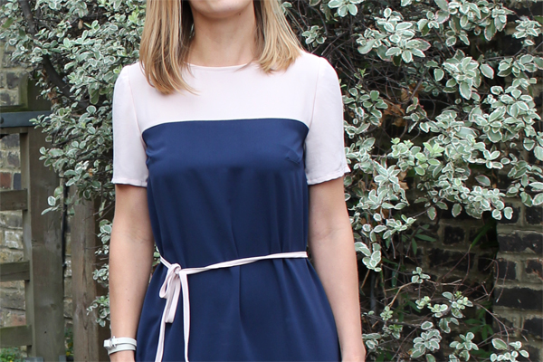 Color Block Dress Sewing Pattern