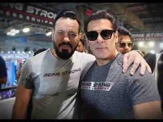 Salman khan and shera