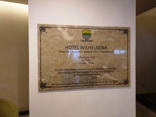 bangunan asal Hotel Wilhelmina sejak tahun 1926