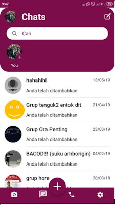 Download Rc Whatsapp ios V 7.90 Bikin Tampilan Whatsapp seperti i Phone X