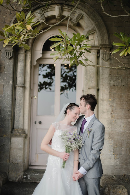 Ben + Michelle's Somerset Spring Wedding at Orchardleigh House