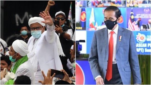 Komite Politik KAMI: HRS Pulang Ekses Kepemimpinan Jokowi Lemah Dan Gagal Sejahterakan Rakyat