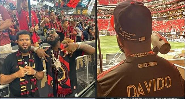 BADDEST!! Davido Makes History As First African Celebrity To Perform At MLS Match In US (Watch Video)