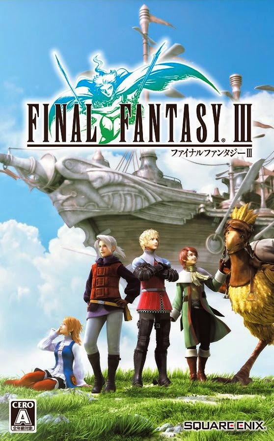 Cover Caratula Final Fantasy III Full PC ESPAÑOL Descargar