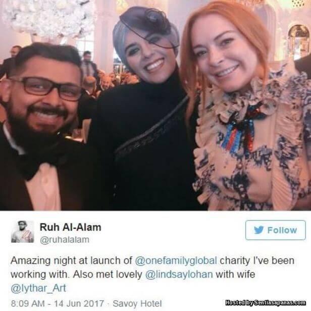 Lindsay Lohan and Maher Zain