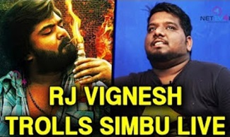 RJ Vigneshkanth Eagerly Waiting To Openly Troll Simbu | Independent Artist Season – 1 Grand Finale