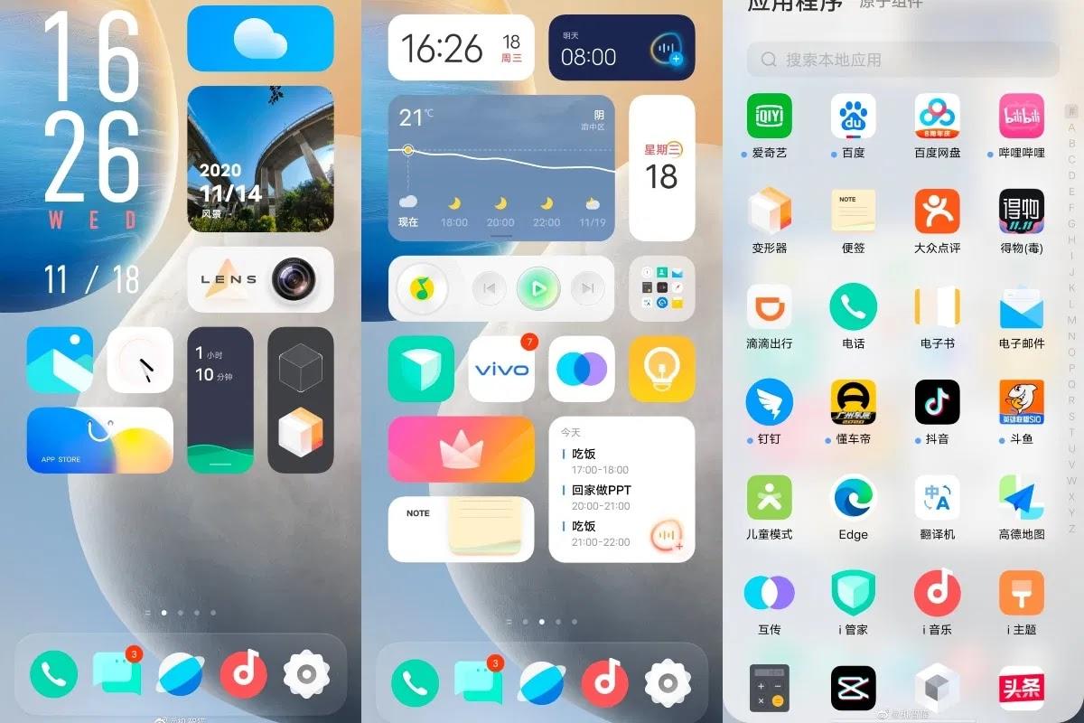 Vivo Updates OriginOS Based on Android 11