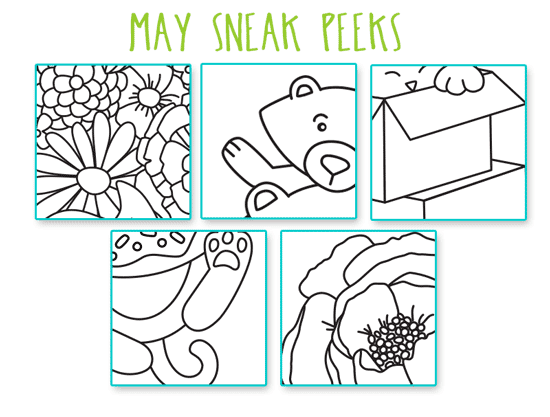 Sneak Peeks of May Release Products! Newton's Nook Designs #newtonsnook #sneakpeek