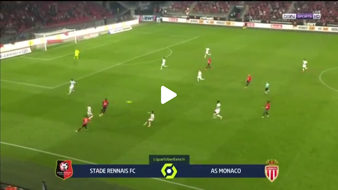 VIDEO: Rennes 2:1  AS Monaco / Ligue 1