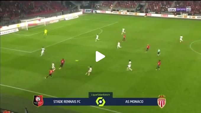 VIDEO: Rennes 2:1  AS Monaco / Ligue 1