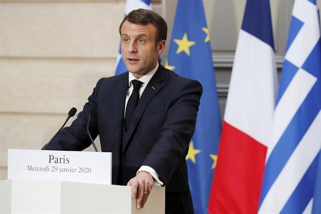 Yeni Safak: «Οι Γάλλοι θέλουν να εισβάλουν στην Ανατολική Μεσόγειο μέσω Αθήνας»
