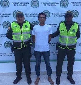 Policía del Cesar captura en Aguachica, hombre por agredir a su progenitora