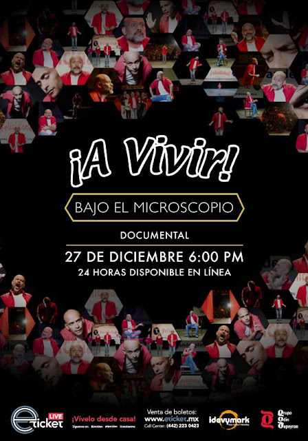 Odin Dupeyron retransmitirá en streaming su documental ¡A Vivir! Bajo el microscopio