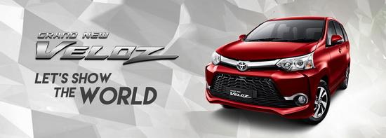Harga Toyota Veloz di Jakarta Tangerang Depok Bekasi Bogor Serang 2017
