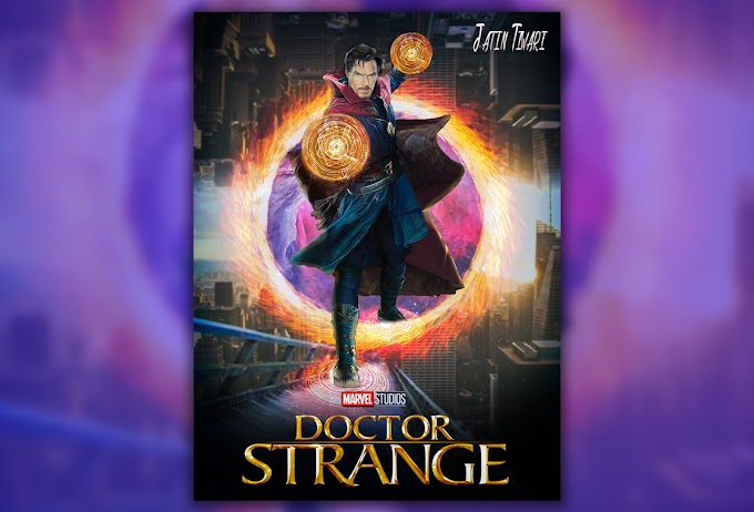 Dr. Strange Poster Design