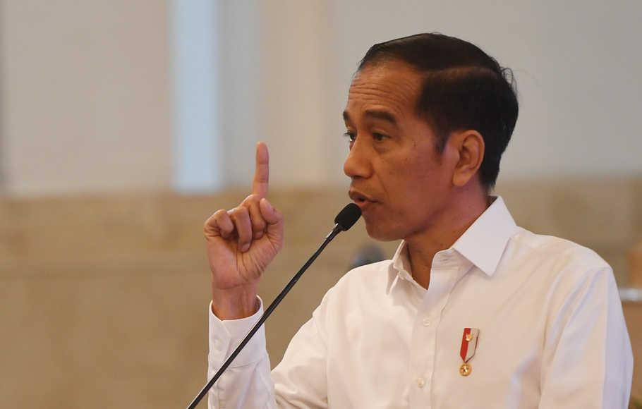 Soroti Komunikasi Publik Pemerintah, Jokowi: Jangan Sampai Malah Bikin Masyarakat Jadi Frustasi