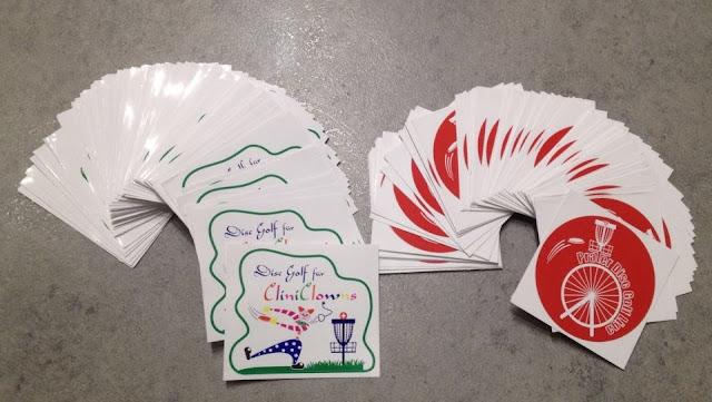 Disc Golf für CliniClowns Sticker