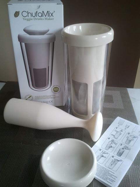 Chufamix - urządzenie do wytwarzania domowego mleka roślinnego