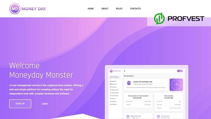 Moneyday Monster обзор и отзывы HYIP-проекта