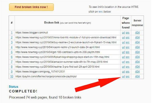 Attention: Fix Broken Links SEO | Website | Blogger | And WordPress