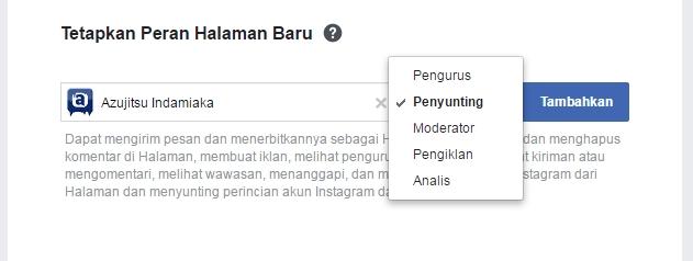 Cara Menambahkan Admin di Fanspage