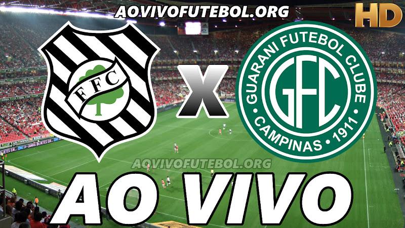 Assistir Figueirense vs Guarani Ao Vivo HD