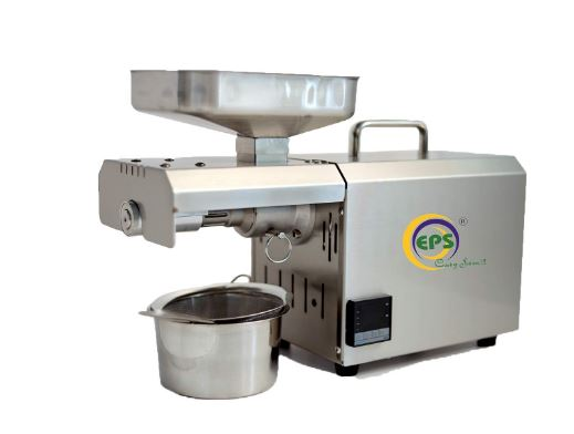 EPS Oil press Machine with digital controller TC 600w organic healthy and pure oil maker