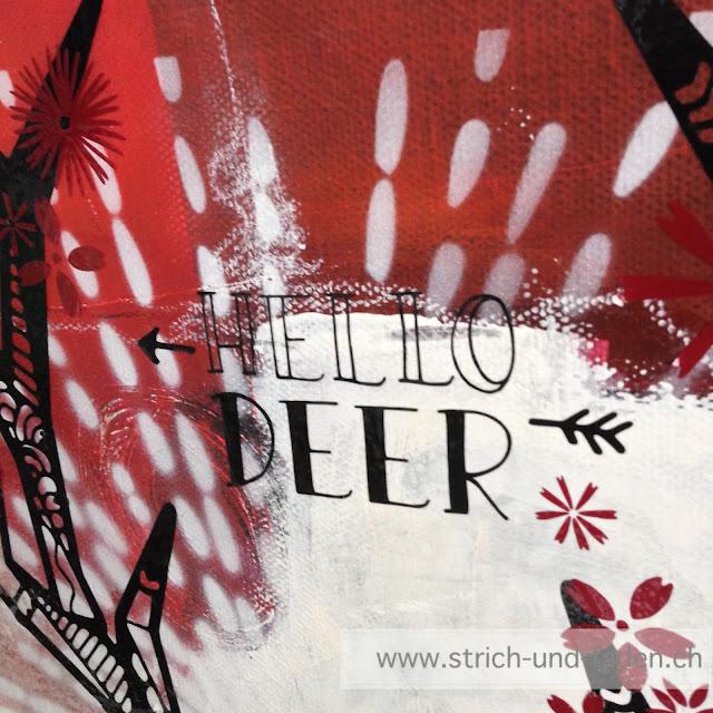 mit Strich und Faden: Hello Deer