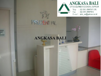 jual meja resepsionis di bali reception counter furniture