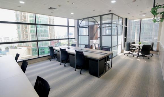 desain ruangan kantor modern
