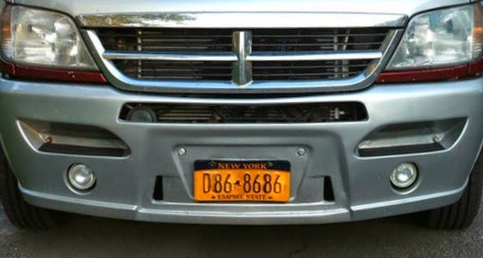 THE INTERSTATE BLOG: FRONT LICENSE PLATE FRAME FOR THE T1N AIRSTREAM