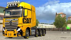 Caterpillar CAT skin for Mercedes SLT MP4