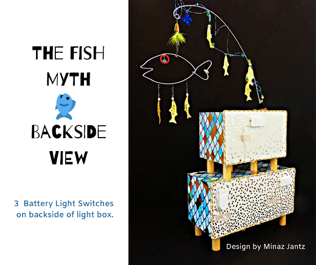 BACKSIDE Lightbox; The Fish Myth by Minaz Jantz