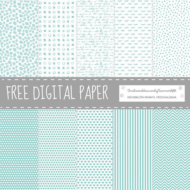 free digital paper mint