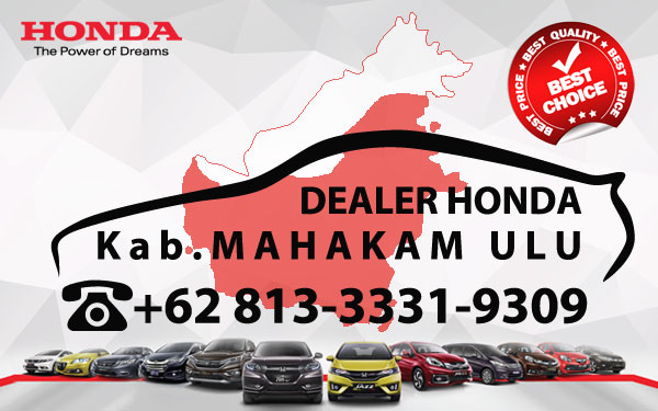 Dealer Honda Mahakam Ulu - Daftar Harga OTR, Cash Kredit Mobil Baru