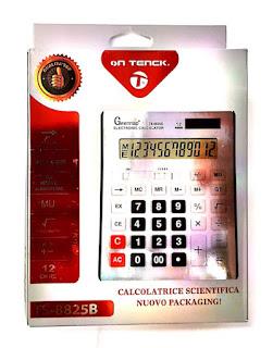 calcolatrice 12 on teck