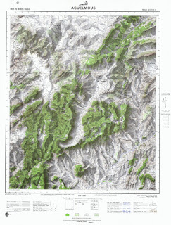 Aguelmous Morocco 50000 (50k) Topographic map free download