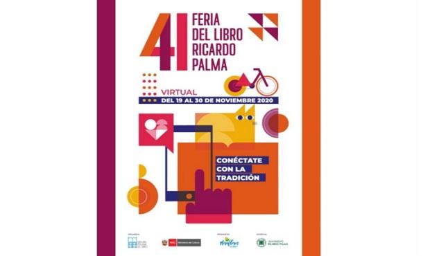 Feria del libro Ricardo Palma en formato virtual comenzará el jueves 19