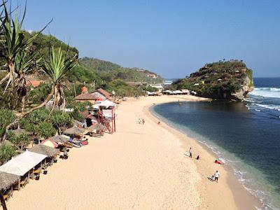 Wisata Pantai Indrayanti - Pantai Pulang Syawal
