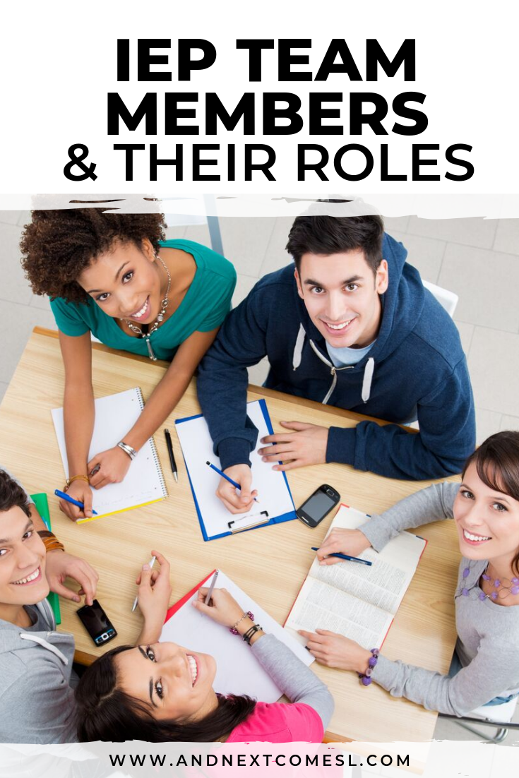 All about IEP team members and who can attend IEP meetings and the roles of those team members