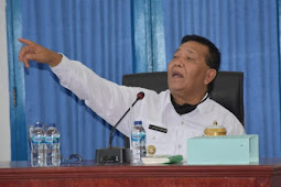 Dahlan Hasan Nasution Gelar Rapat Kinerja OPD Mandailing Natal di Awal 2021