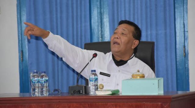 Dahlan Hasan Nasution Gelar Rapat Kinerja OPD Mandailing Natal di Awal 2021.lelemuku.com.jpg