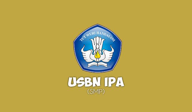 Soal USBN IPA SMP