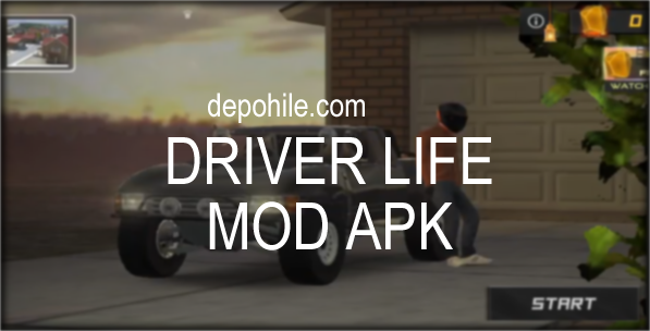 Driver Life v0.3 Oyunu Araba, Para Hileli Mod Apk İndir