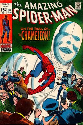 Amazing Spider-Man #80, the Chameleon